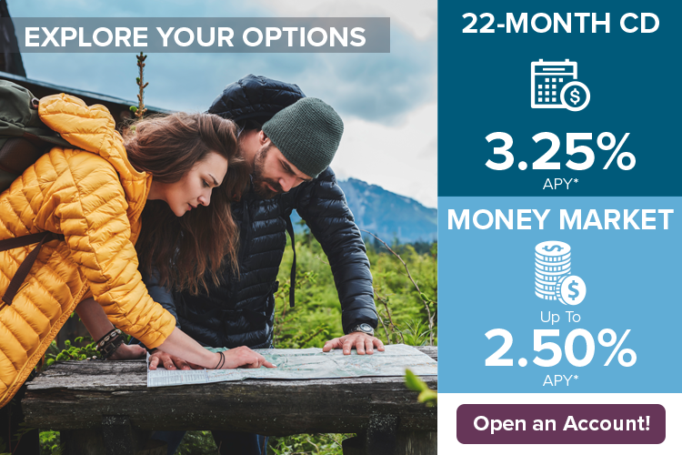 22-Month CD and Money Market Account